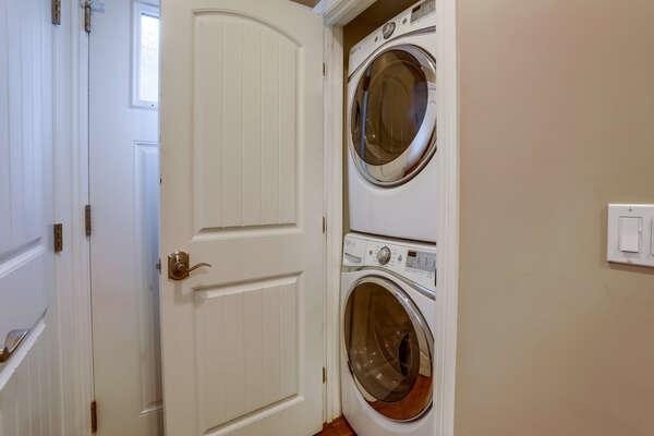 Washer/Dryer - First Floor