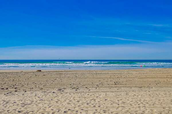 Mission Beach, Just a Few Steps Outside Your Front Door!