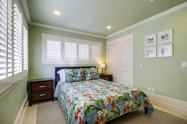 Bedroom two with Queen bed