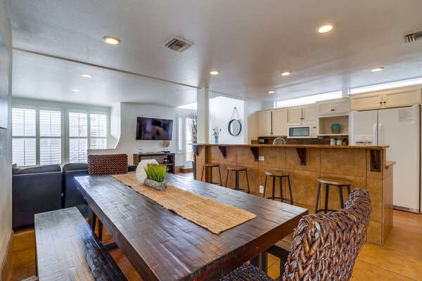 Dining Table for 8, Second Floor