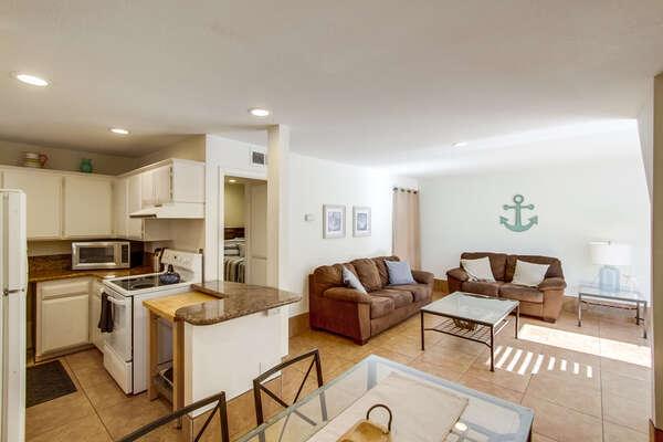 Ground Floor Apartment Suite, First Floor