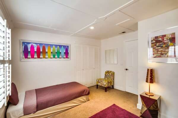 Guest Bedroom #2 - Full/Full Bunk, Twin Bed