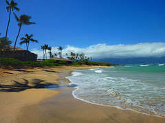 Beachfront property on the north shore of Maui