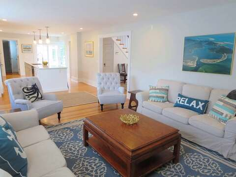 Open concept living! 388 Main St-Chatham Cape Cod New England Vacation Rentals