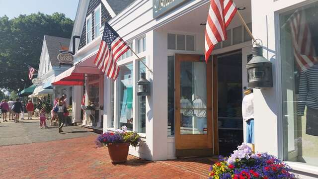 Just a couple blocks to the Candy manor - a must stop while here in Chatham!And grab a burger and a beer just across the street at the Chatham Squire! Chatham Cape Cod New England Vacation Rentals