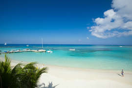 View of Caribbean
