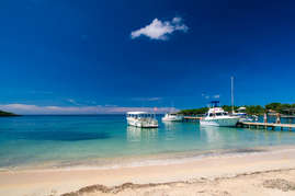 Consider going on a charter boat for a day of snorkeling and diving.