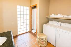 Full bathroom and Laundry just off the kitchen