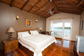 Master Bedroom with private balcony and ocean view