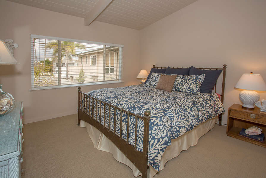 Bedroom #2 w/King-size bed