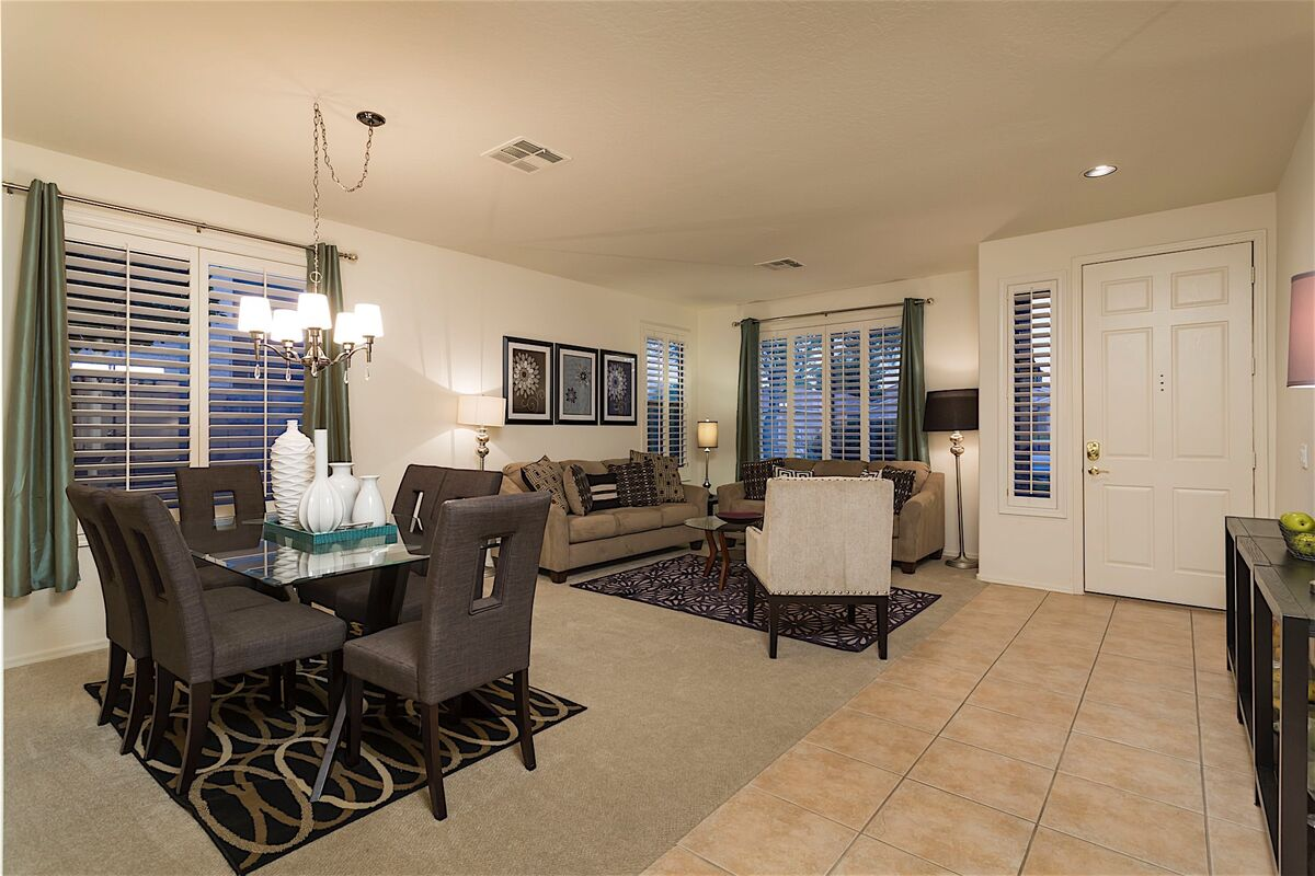 Large Formal dining and living room