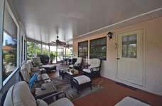 Large Screened Covered Patio