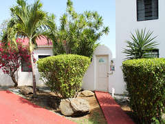 Pathway from private parking to Courtyard Entrance