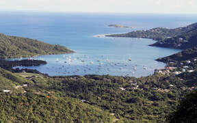 Views of Coral Bay from Satinwood
