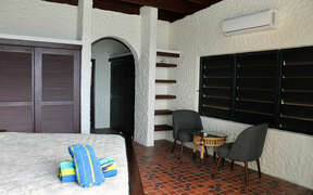 Classic West Indies design with natural stone and archways