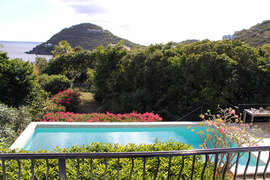 The Natural beauty of St. John overlooking the pool