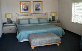 Well appointed bedroom