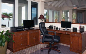 Office space off of the great room