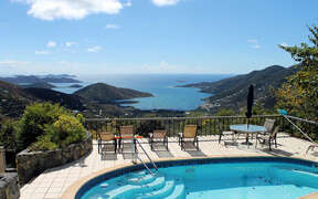 View of Coral Bay from the Pool deck