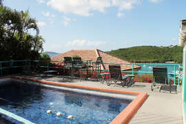 Private community pool for Battery Hill residents and guests