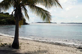 Panacea is within walking distance to Frank Bay Beach