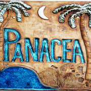 Panacea Welcome Sign