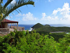 Salt Pond Vista = Panoramic South Shore Views of the Caribbean Sea