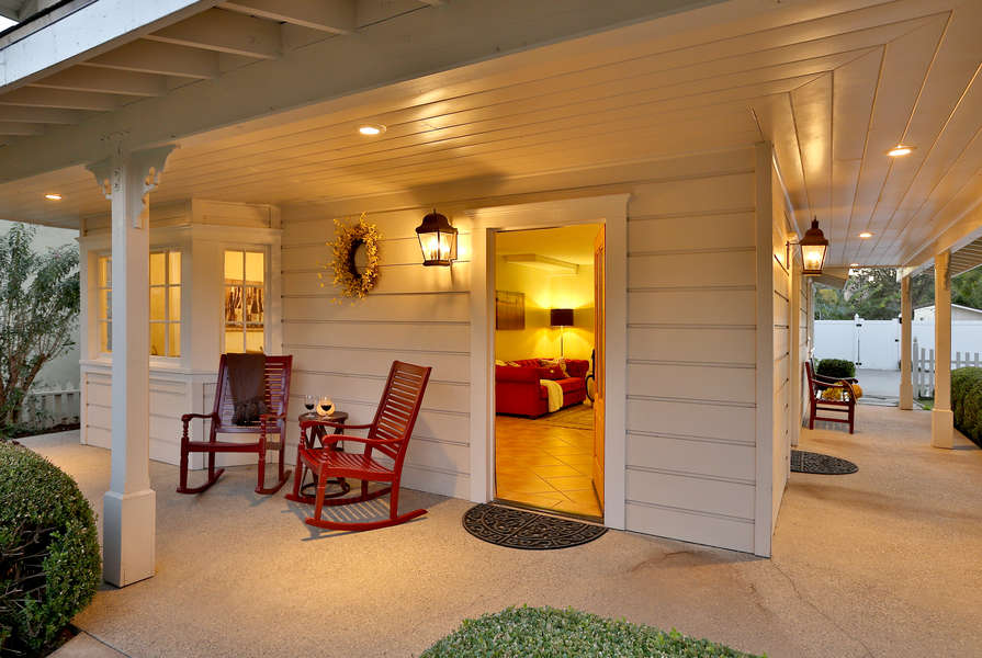 Relax on the front porch!