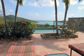 View of Fish Bay from pool deck