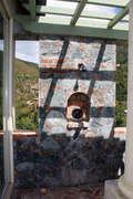 Alfresco shower with a view of Fish Bay, St. John