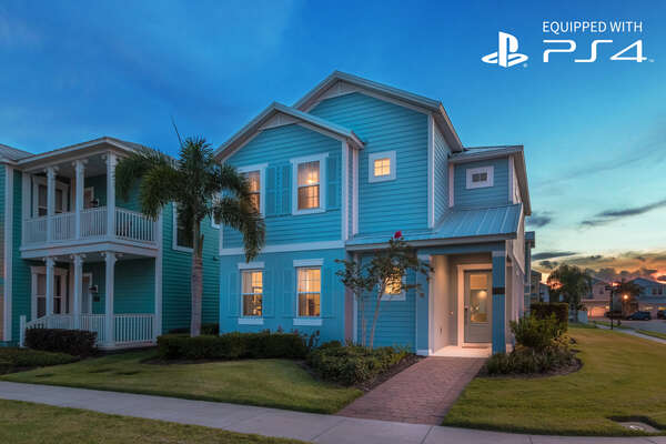 Key West-style 5 Bedroom Pool Home