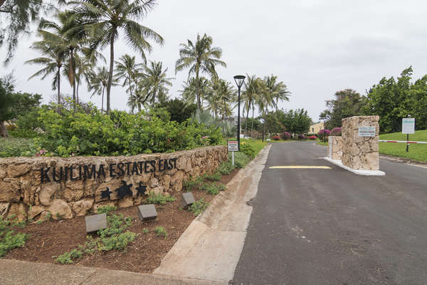 Kuilima Estates East Entrance