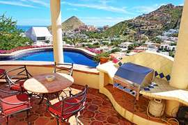 Priviate Pool with Amazing views of downtown Cabo and Sea of Cortez