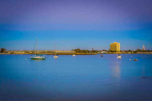 Mission Bay is a short 30 second walk away from Devon805