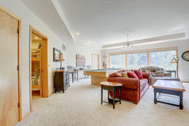 Family Room with Pool Table - downstairs