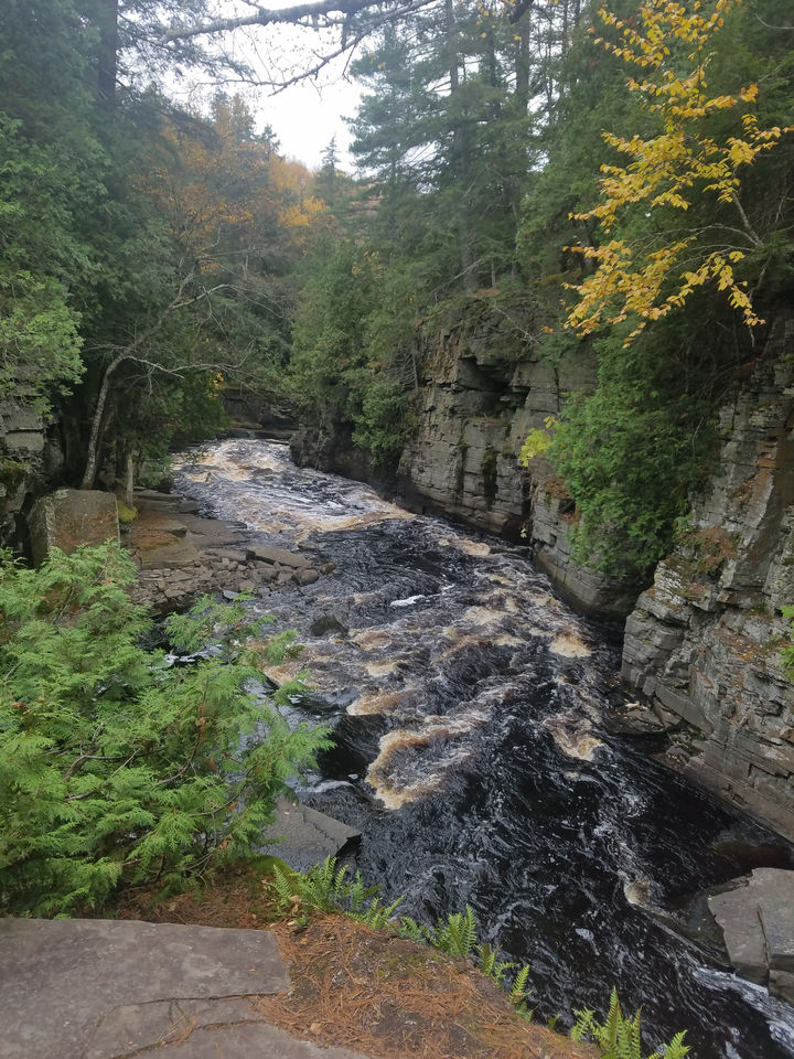Canyon Falls in L'Anse Township is a must see!