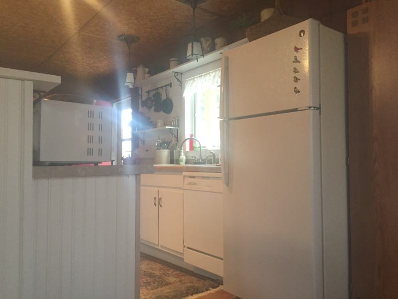 Newly updated kitchen and appliances