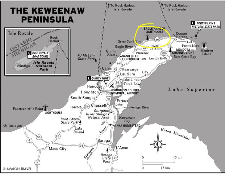 Explore Michigan's copper country - the mighty Keweenaw Penninsula