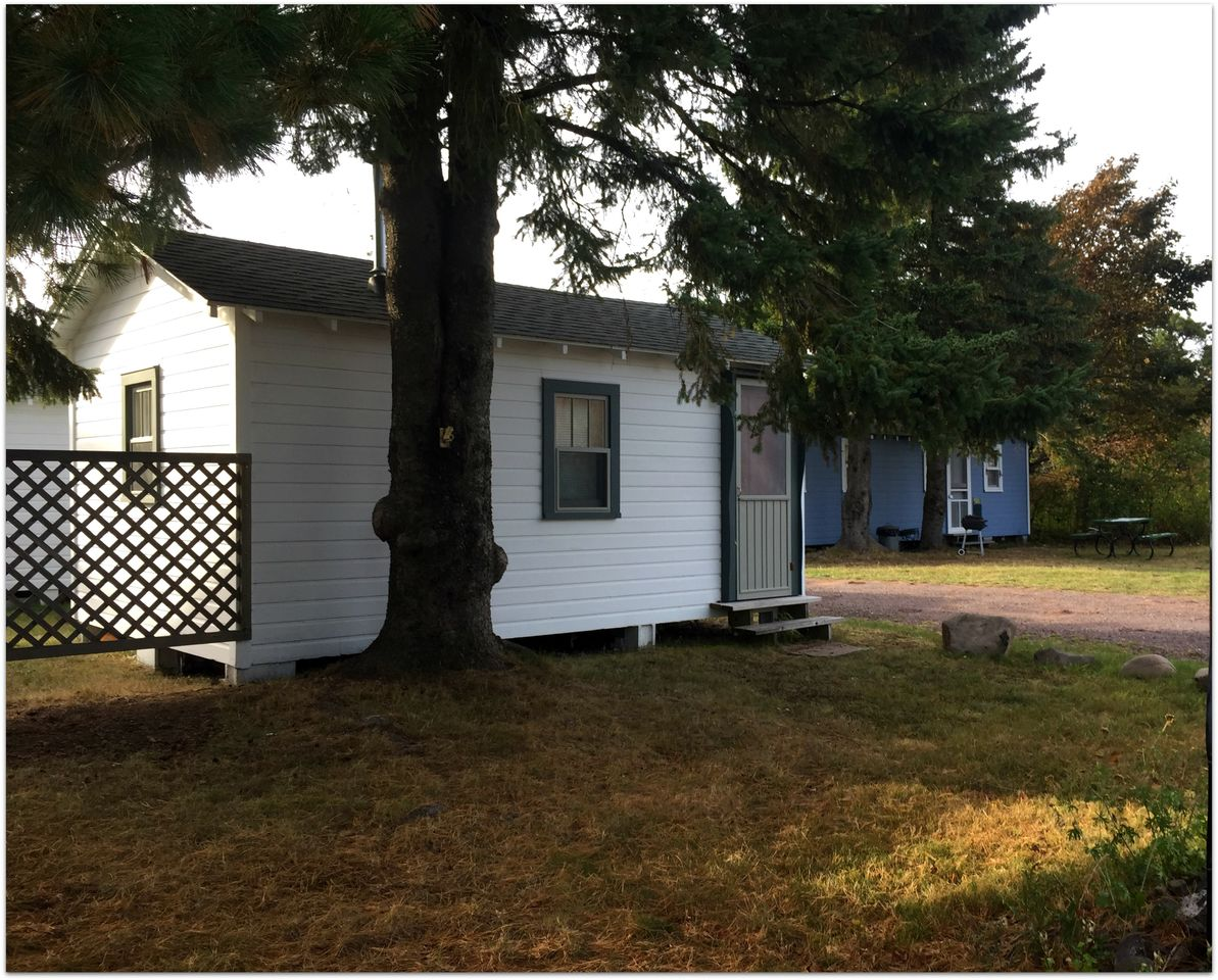Free standing, self contained cottages just a short walk from the sandy beach of Eagle Harbor and the rugged coast line of Lake Superior