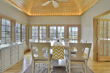 Dining area extened