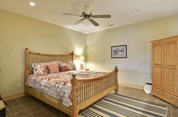 Lake Level second Bedroom