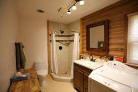 Bathroom/Laundry (downstairs)