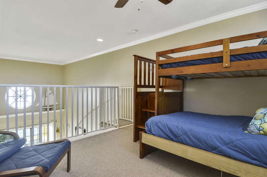 Loft with bunk beds