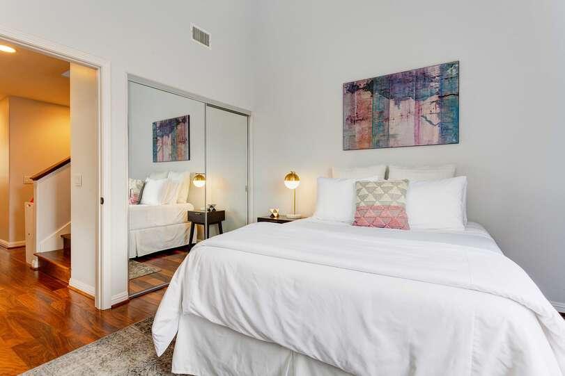 All three bedrooms offer ocean views