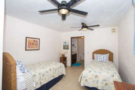 3rd bedroom features two Guest Beds that can be configured as a king also.