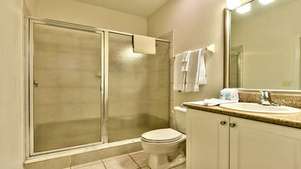 2nd Bathroom with Walk in Shower !