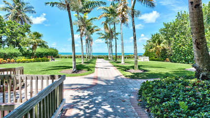 Naples Beach is only a 5 Minute Walk from the Front Door of Our Condo!