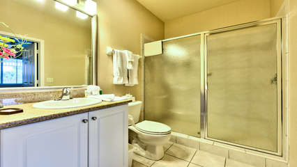2nd Bathroom with Walk in Shower!