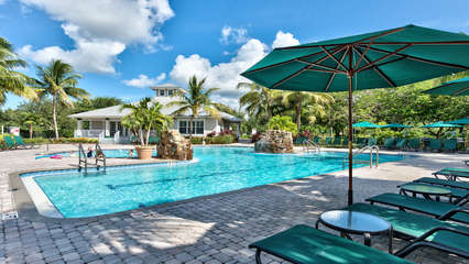 Resort Style Pool and Hot Tub in Community; Ample Seating and Loungers; Community Grill; Gym; Multiple Tennis Courts! Only a 2 Minute Walk from the Condo!