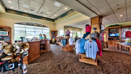 Pro Shop at the Championship Golf Courses Located Within Steps of the Condo!